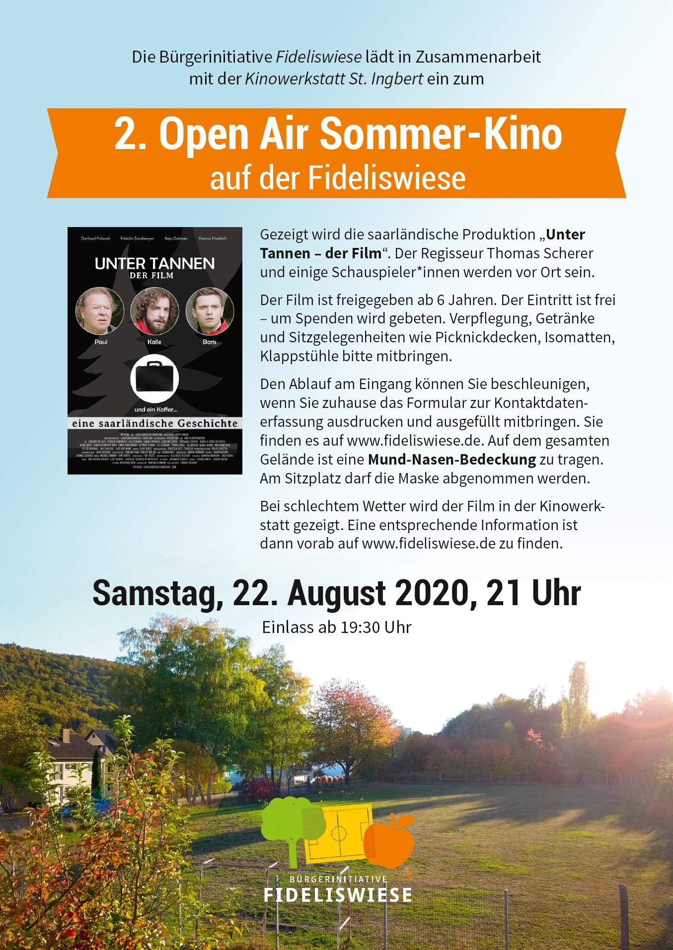 2. Open Air Sommer-Kino